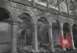 Image of destroyed palace Guadalajara Spain, 1936, second 5 stock footage video 65675063413