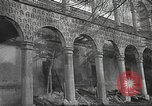 Image of destroyed palace Guadalajara Spain, 1936, second 7 stock footage video 65675063413