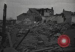 Image of bomb destroyed building Spain, 1945, second 1 stock footage video 65675063415