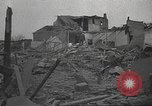 Image of bomb destroyed building Spain, 1945, second 3 stock footage video 65675063415