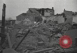 Image of bomb destroyed building Spain, 1945, second 4 stock footage video 65675063415