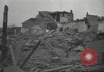 Image of bomb destroyed building Spain, 1945, second 5 stock footage video 65675063415