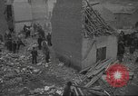 Image of bomb destroyed building Spain, 1945, second 8 stock footage video 65675063415