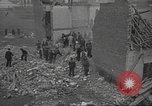 Image of bomb destroyed building Spain, 1945, second 11 stock footage video 65675063415