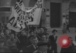 Image of Union supporters on parade Valencia Spain, 1936, second 6 stock footage video 65675063421