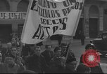Image of Union supporters on parade Valencia Spain, 1936, second 8 stock footage video 65675063421