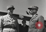 Image of General Charles De Gaulle Africa, 1943, second 7 stock footage video 65675063429
