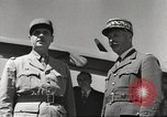 Image of General Charles De Gaulle Africa, 1943, second 8 stock footage video 65675063429