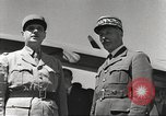 Image of General Charles De Gaulle Africa, 1943, second 9 stock footage video 65675063429