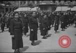 Image of soldiers marching Europe, 1944, second 10 stock footage video 65675063436