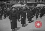 Image of soldiers marching Europe, 1944, second 11 stock footage video 65675063436
