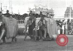 Image of Procession with decorated elephant Bombay India, 1932, second 4 stock footage video 65675063442