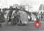 Image of Procession with decorated elephant Bombay India, 1932, second 6 stock footage video 65675063442