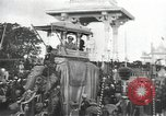 Image of Procession with decorated elephant Bombay India, 1932, second 10 stock footage video 65675063442