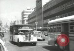Image of traffic on streets Mexico City Mexico, 1944, second 1 stock footage video 65675063455