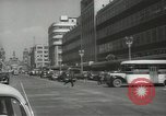 Image of traffic on streets Mexico City Mexico, 1944, second 7 stock footage video 65675063455