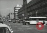 Image of traffic on streets Mexico City Mexico, 1944, second 8 stock footage video 65675063455