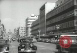 Image of traffic on streets Mexico City Mexico, 1944, second 9 stock footage video 65675063455