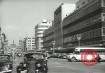 Image of traffic on streets Mexico City Mexico, 1944, second 10 stock footage video 65675063455