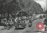 Image of ongoing parade Mexico City Mexico, 1944, second 1 stock footage video 65675063456