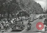 Image of ongoing parade Mexico City Mexico, 1944, second 3 stock footage video 65675063456