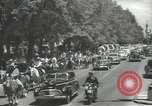 Image of ongoing parade Mexico City Mexico, 1944, second 4 stock footage video 65675063456
