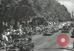 Image of ongoing parade Mexico City Mexico, 1944, second 7 stock footage video 65675063456