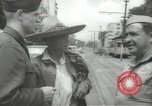 Image of United States officers Mexico City Mexico, 1944, second 11 stock footage video 65675063463