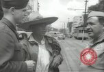 Image of United States officers Mexico City Mexico, 1944, second 12 stock footage video 65675063463