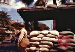 Image of Soldier standing guard at sandbagged post Honolulu Hawaii USA, 1942, second 12 stock footage video 65675063477