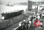 Image of USS Nautilus SSN-571 commissioned Groton Connecticut United States USA, 1954, second 2 stock footage video 65675063492