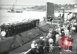 Image of USS Nautilus SSN-571 commissioned Groton Connecticut United States USA, 1954, second 3 stock footage video 65675063492