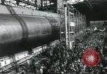 Image of Launch of the USS Nautilus Groton Connecticut USA, 1954, second 12 stock footage video 65675063497