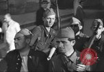 Image of Soldiers training at beginning of Spanish revolution  Sevilla Spain, 1936, second 7 stock footage video 65675063520