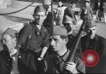 Image of Soldiers training at beginning of Spanish revolution  Sevilla Spain, 1936, second 9 stock footage video 65675063520