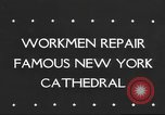 Image of Saint Patrick's Cathedral New York United States USA, 1945, second 1 stock footage video 65675063524