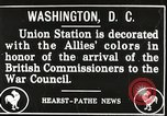 Image of Arthur Balfour Washington DC USA, 1917, second 2 stock footage video 65675063530