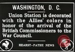 Image of Arthur Balfour Washington DC USA, 1917, second 5 stock footage video 65675063530