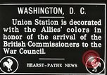 Image of Arthur Balfour Washington DC USA, 1917, second 7 stock footage video 65675063530