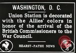Image of Arthur Balfour Washington DC USA, 1917, second 8 stock footage video 65675063530