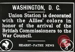 Image of Arthur Balfour Washington DC USA, 1917, second 9 stock footage video 65675063530