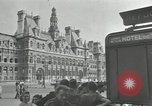 Image of deserted streets Paris France, 1944, second 5 stock footage video 65675063531