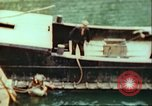 Image of German barge Germany, 1945, second 10 stock footage video 65675063563
