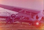 Image of wrecked German airplanes Paris France, 1945, second 1 stock footage video 65675063573