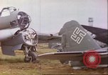 Image of wrecked German airplanes Paris France, 1945, second 10 stock footage video 65675063573