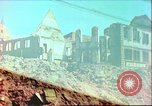 Image of bomb damaged building Wurzburg Germany, 1945, second 1 stock footage video 65675063593