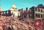 Image of bomb damaged building Wurzburg Germany, 1945, second 2 stock footage video 65675063593