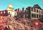 Image of bomb damaged building Wurzburg Germany, 1945, second 3 stock footage video 65675063593