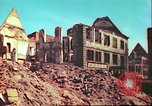 Image of bomb damaged building Wurzburg Germany, 1945, second 5 stock footage video 65675063593