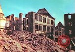Image of bomb damaged building Wurzburg Germany, 1945, second 6 stock footage video 65675063593